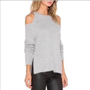 J.O.A. Breathe Easy cold shoulder sweater xs
